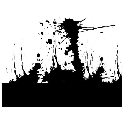 Free Grunge Splatter Free Vector