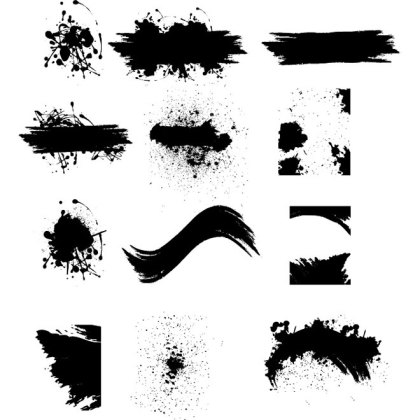 Grunge Textures Free Vector