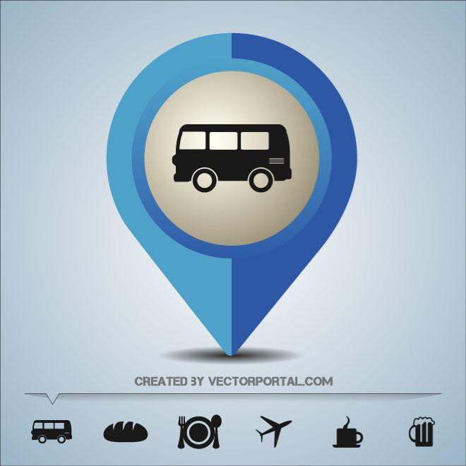 Google Maps Pin Icon