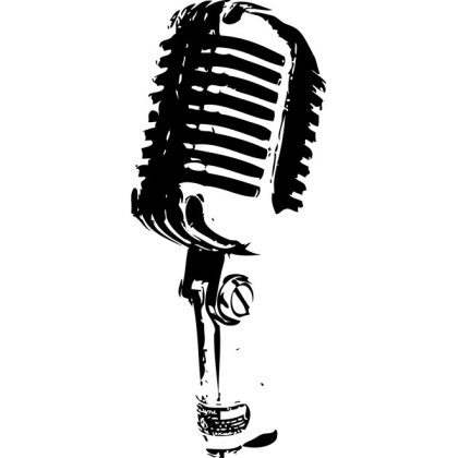 Microphone Musical Note Silhouette - Microphone Silhouette, HD Png Download  , Transparent Png Image - PNGitem