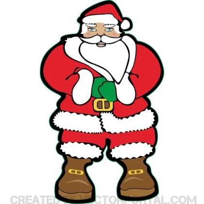 Santa Claus Free Stock Free Vector