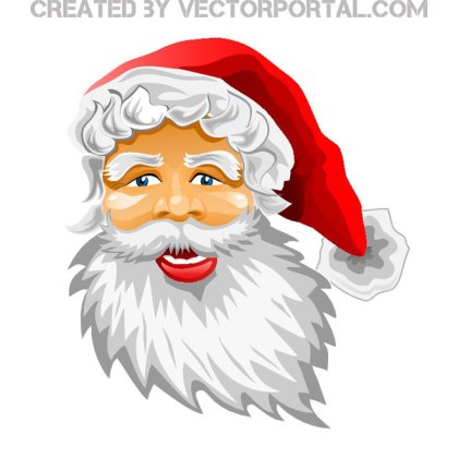 Santa Claus Image Free Vector