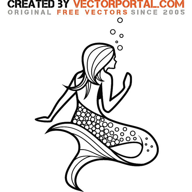 Siren Graphics Free Vector
