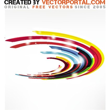 Stock Geometric Abstract Free Vector