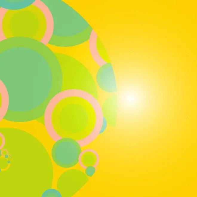 Vivid Yellow Background Free Vector