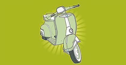 scooter vector free download scooter vector free download
