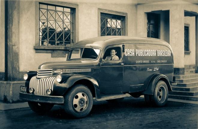 Caminhão da Casa Publicadora Brasileira - Santo André, BRASIL