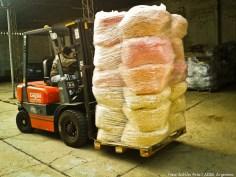 ADRA Argentina proveyó artículos alimenticios y calzado, gracias a la cooperación de alimentos Granix.