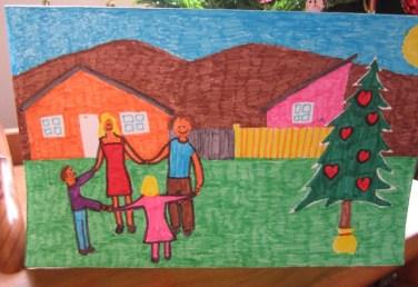 Sin duda la mejor alternativa para el buen desarrollo de los niños es una familia protectora. (Crédito de foto: ADRA Chile)