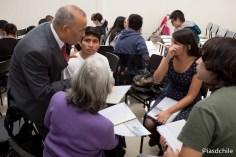 Grupos de discusión sobre la lectura del material entregado.