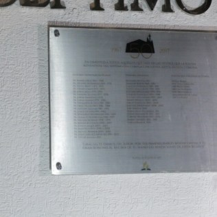 Placa conmemorativa a pastores