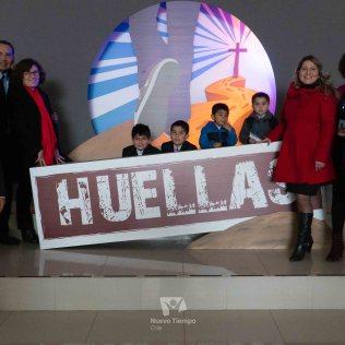 """Representantes de Santiago en el """"Encuentro Huellas""""."""