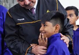Ángel Choque (alumno del Colegio Adventista de Arica). Foto: Gerson Salamanca – Asociación Norte de Chile