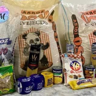 Proyecto social Freedom Hope, donación de alimentos y repartición. (Foto: Fredoom Place)