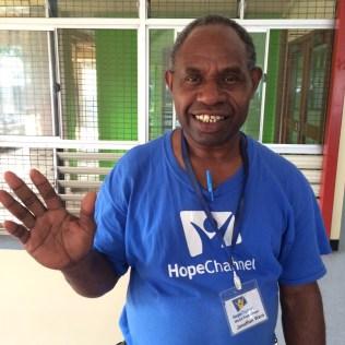 O pastor Jonathan Wera é um dos apoiadores da iniciativa.
