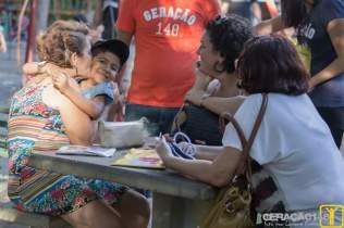 Muitas mães se emocionaram com o carinho