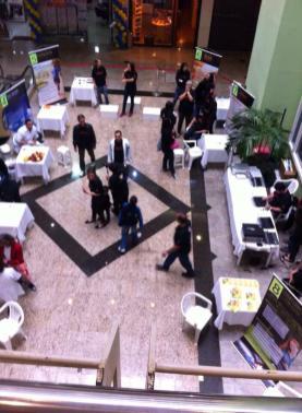 Feira de Saúde no Shopping Cadima em Nova Friburgo.