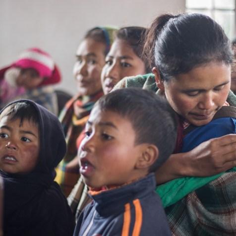 Antes do projeto, dependências humildes abrigavam adultos e crianças no estado indiano com presença adventista.