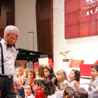 Crianças também tiveram momentos especiais durante a programação. Foto: Jefferson Paradello