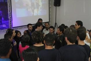Oração de consagração dos novos colportores.