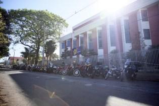 Estacionamento da IASD Horto Florestal, em Maringá, lotou de motocicletas