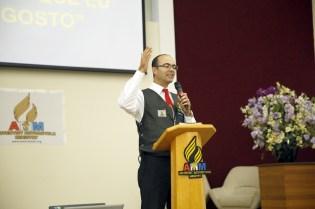 Capelão do AMM Maringá, pastor Natal Gardino, ministrou a mensagem