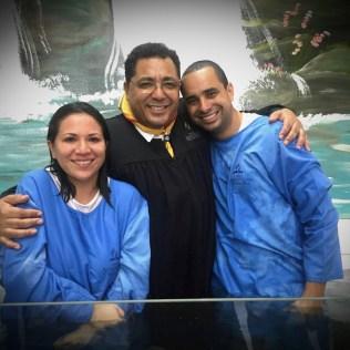Distrito teve sete batismos em maio