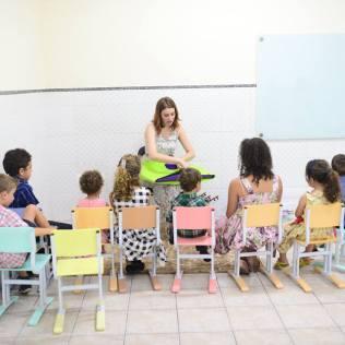 Atenção para as crianças também faz parte do projeto desenvolvido no interior de São Paulo.