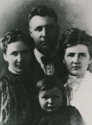 O missionário e sua família