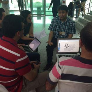 Grupos de estudos estão elaborando artigos científicos para conclusão da formação.