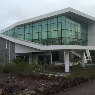 Local das reuniões em uma das ilhas do arquipélago que fica no Equador.