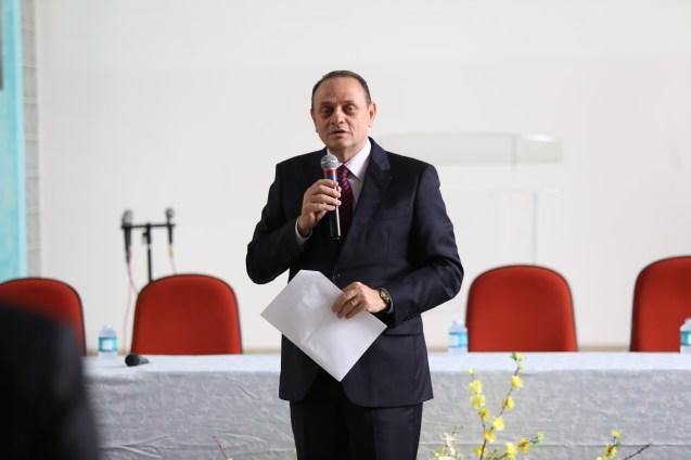 Dr. João relatou a conquista das Escolas Adventistas do Pará.