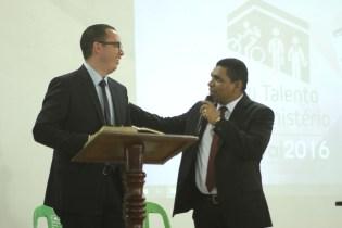 Pastores Nazareno Santos (MSMa) e Lucas Carvalho (ASPA)