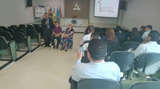 Pastor Paulo Penedo compartilha sua história na União Norte