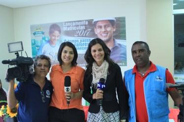 A TV Mirante, afiliada da rede Globo fez a cobertura do evento