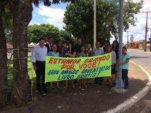 Distrito de Taguatinga Norte também distribuiu livros gratuitos