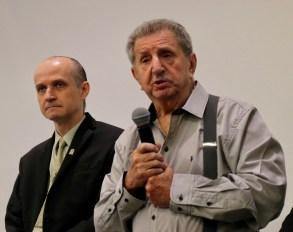 Dr. Fernando Guimarães relembrou emocionado do tempo em que atuou como diretor do hospital.