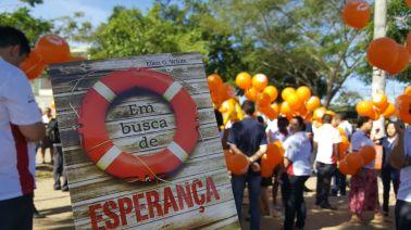 Servidores da Rio Sul foram às ruas no dia 26.