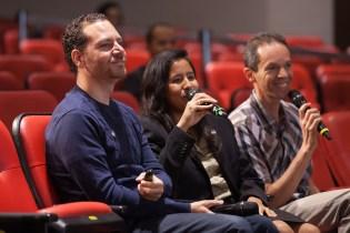 Intérpretes ajudaram internautas ouvintes a acompanhar o conteúdo do programa (Foto: Gustavo Leighton)