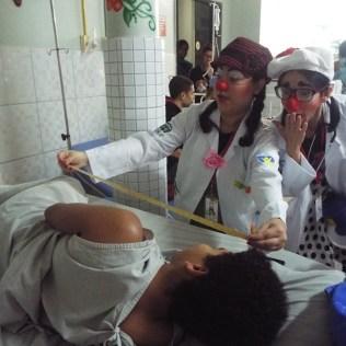 Plantão médico do projeto.