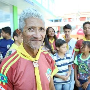 Carlos Alberto, diretor do Clube de Desbravadores Maranata.