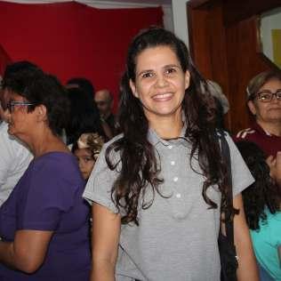 Karine contou que se emocinou com as apresentações dos alunos