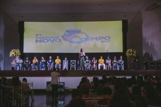 Participantes ouviram cantores e apresentadores da TV Novo Tempo.