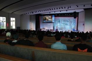 Congresso Universitário aconteceu no Colégio Adventista de Vila Matilde [Foto: Michelle Martins]