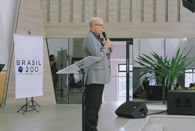 Pastor Luiz Carlos Araújo (presidente Associação Paulista Sul) - (Crédito: Jédy Fersil)
