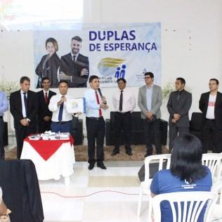 Pastores motivando as duplas da cidade de Parauapebas,PA.