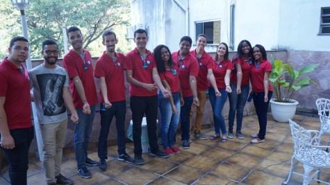 Thiago e missionários do OYiM fizeram doação de sangue no dia 13.