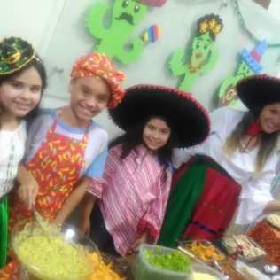Culinária mexicana é destaque na Feira das Nações. Pessoal/Carlos César