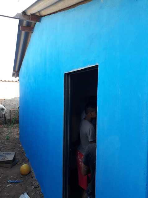 Casa após a pintura