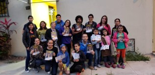 Participantes também se envolvem em projetos sociais da Igreja Adventista (Foto: Divulgação)